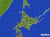 アメダス実況(気温)(2020年06月09日)