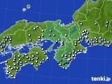 2020年06月10日の近畿地方のアメダス(降水量)