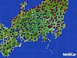 関東・甲信地方のアメダス実況(日照時間)(2020年06月10日)