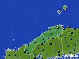 2020年06月10日の島根県のアメダス(日照時間)