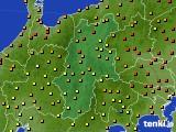 2020年06月10日の長野県のアメダス(気温)