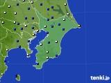 千葉県のアメダス実況(風向・風速)(2020年06月10日)