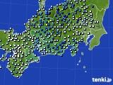 2020年06月11日の東海地方のアメダス(降水量)