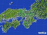 近畿地方のアメダス実況(降水量)(2020年06月11日)