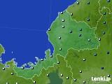 2020年06月11日の福井県のアメダス(降水量)