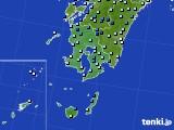 鹿児島県のアメダス実況(降水量)(2020年06月11日)