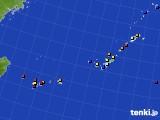 沖縄地方のアメダス実況(日照時間)(2020年06月11日)