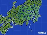 関東・甲信地方のアメダス実況(日照時間)(2020年06月11日)