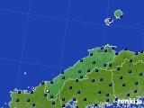 2020年06月11日の島根県のアメダス(日照時間)