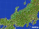 アメダス実況(気温)(2020年06月11日)