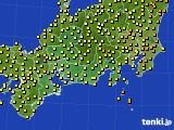 東海地方のアメダス実況(気温)(2020年06月11日)