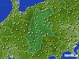 2020年06月11日の長野県のアメダス(気温)