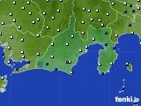 2020年06月11日の静岡県のアメダス(風向・風速)