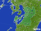 2020年06月11日の熊本県のアメダス(風向・風速)