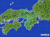 2020年06月12日の近畿地方のアメダス(降水量)