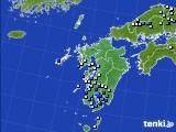 2020年06月12日の九州地方のアメダス(降水量)