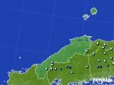 島根県のアメダス実況(降水量)(2020年06月12日)