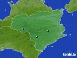 徳島県のアメダス実況(降水量)(2020年06月12日)
