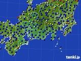 東海地方のアメダス実況(日照時間)(2020年06月12日)