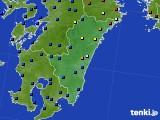 2020年06月12日の宮崎県のアメダス(日照時間)