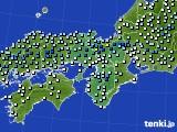 2020年06月13日の近畿地方のアメダス(降水量)