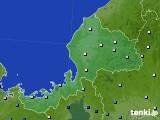 2020年06月13日の福井県のアメダス(降水量)