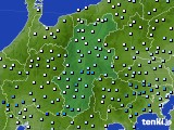 2020年06月13日の長野県のアメダス(降水量)