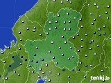 2020年06月13日の岐阜県のアメダス(降水量)