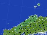 2020年06月13日の島根県のアメダス(降水量)