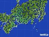 東海地方のアメダス実況(日照時間)(2020年06月13日)