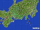 東海地方のアメダス実況(気温)(2020年06月13日)