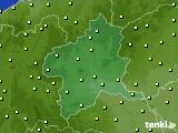 2020年06月13日の群馬県のアメダス(気温)