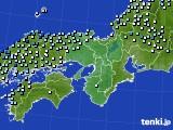 2020年06月14日の近畿地方のアメダス(降水量)