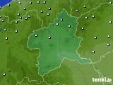 2020年06月14日の群馬県のアメダス(降水量)