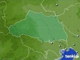 埼玉県のアメダス実況(降水量)(2020年06月14日)