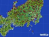 関東・甲信地方のアメダス実況(日照時間)(2020年06月15日)