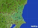 2020年06月15日の茨城県のアメダス(日照時間)