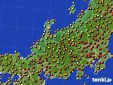北陸地方のアメダス実況(気温)(2020年06月15日)
