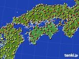 2020年06月15日の四国地方のアメダス(気温)