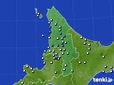 2020年06月16日の道北のアメダス(降水量)