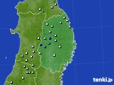 2020年06月16日の岩手県のアメダス(降水量)