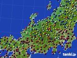 北陸地方のアメダス実況(日照時間)(2020年06月16日)