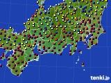 東海地方のアメダス実況(日照時間)(2020年06月16日)
