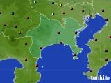 2020年06月16日の神奈川県のアメダス(日照時間)