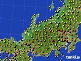 北陸地方のアメダス実況(気温)(2020年06月16日)