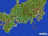 東海地方のアメダス実況(気温)(2020年06月16日)