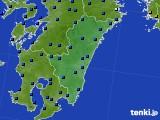 2020年06月17日の宮崎県のアメダス(日照時間)