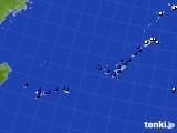 沖縄地方のアメダス実況(風向・風速)(2020年06月17日)