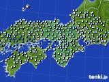 2020年06月18日の近畿地方のアメダス(降水量)