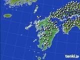 2020年06月18日の九州地方のアメダス(降水量)